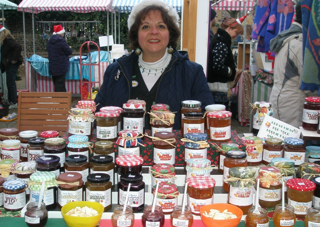 Ramsgate Handmade Fair Christmas stall Terris Pickles.JPG