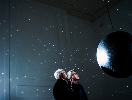 Katie Paterson, Totality, 2016. Photo © Flora Bartlett. Courtesy of the Arts Council Collection. Installation view Somerset House