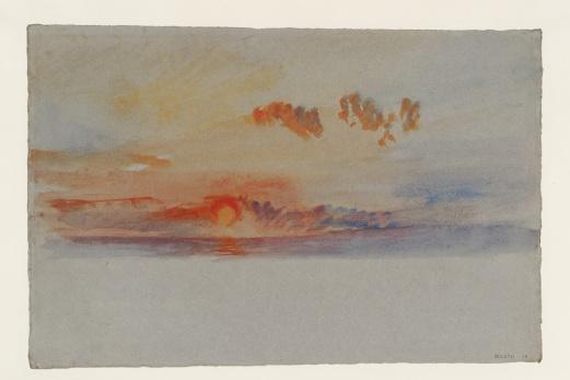 Turner, Joseph Mallord William, Orange Sunset ,c.1840 © Tate, London 2018