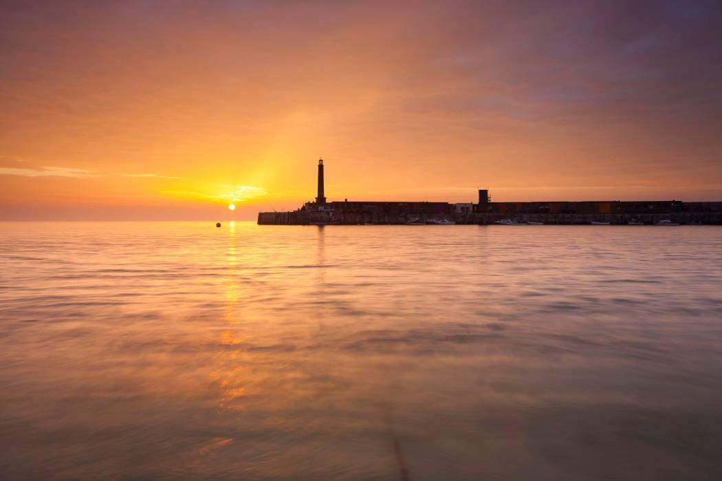 Margate 'Turner' sunset